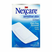 Nexcare Adhesive Bandages Sensitive Skin Knee & Elbow