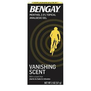 Bengay Vanishing Scent Pain Relief Gel
