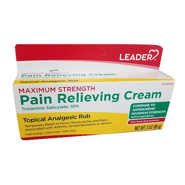 LEADER Maximum Strength Pain Relief Cream