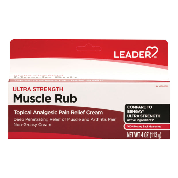 LEADER Ultra Strength Muscle Rub Cream