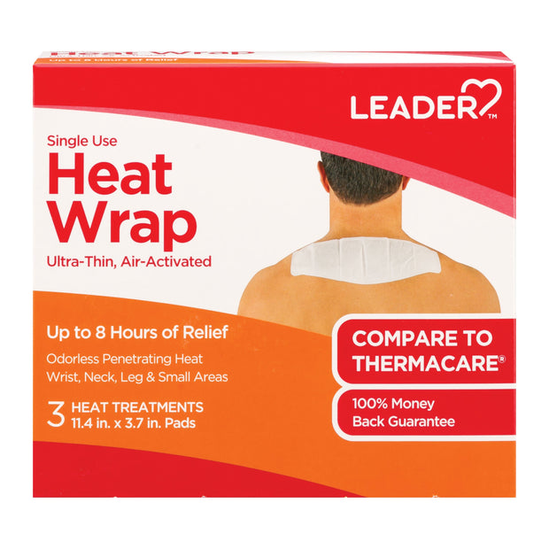 LEADER Single Use 8 Hour Small Heat Wrap