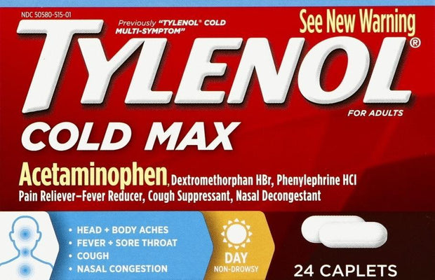 Tylenol Cold Max Day Caplets 24 ct