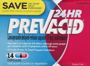 Prevacid 24 Hour Acid Reducer 15mg Capsules