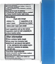 Fleet Pedia-Lax Children's Glycerin Suppositories 12 ct