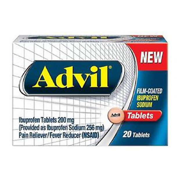 Advil 200mg Film-Coated Tablets