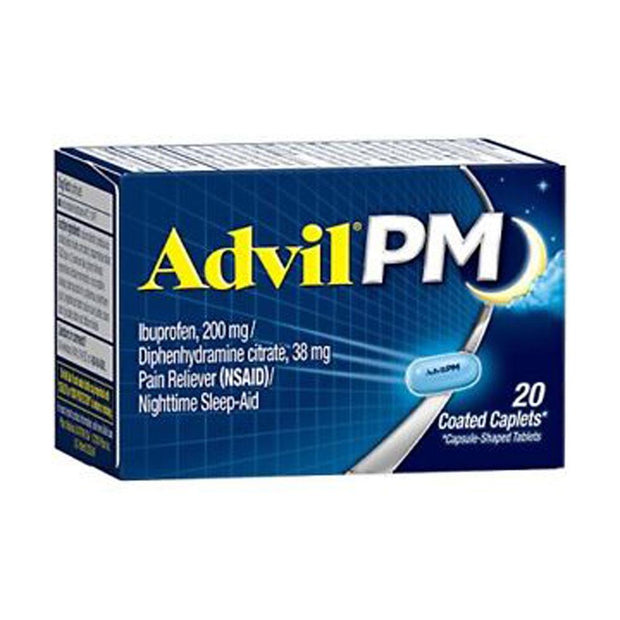 Advil PM Coated Caplets