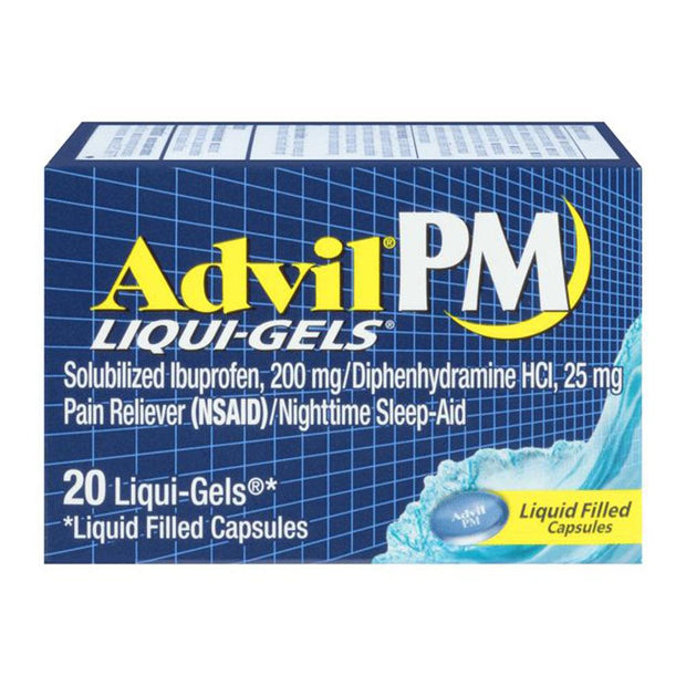 Advil PM 200mg Liqui-Gels Capsules