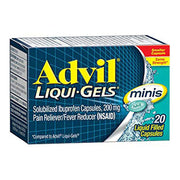 Advil Mini 200mg Liqui-Gels Capsules