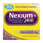 Nexium 24 Hour Acid Reducer 20mg Mini Capsules