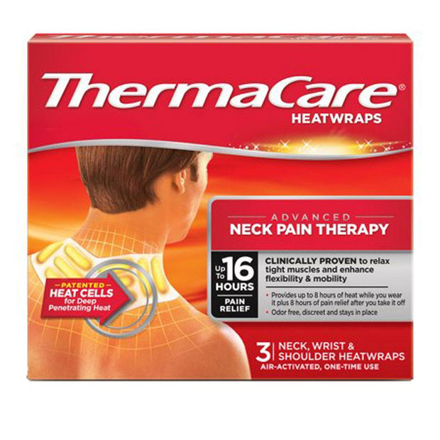Thermacare Neck Pain Therapy Heatwraps