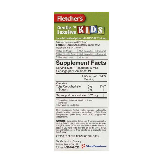 Fletcher's Laxative for Kids Root Beer Liquid