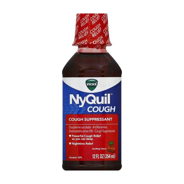 Vicks NyQuil Cough Cherry Liquid