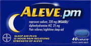 Aleve PM Pain Reliever/Nighttime Sleep Aid Caplets