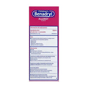 Children's Benadryl Allergy Relief Cherry Liquid 4 oz