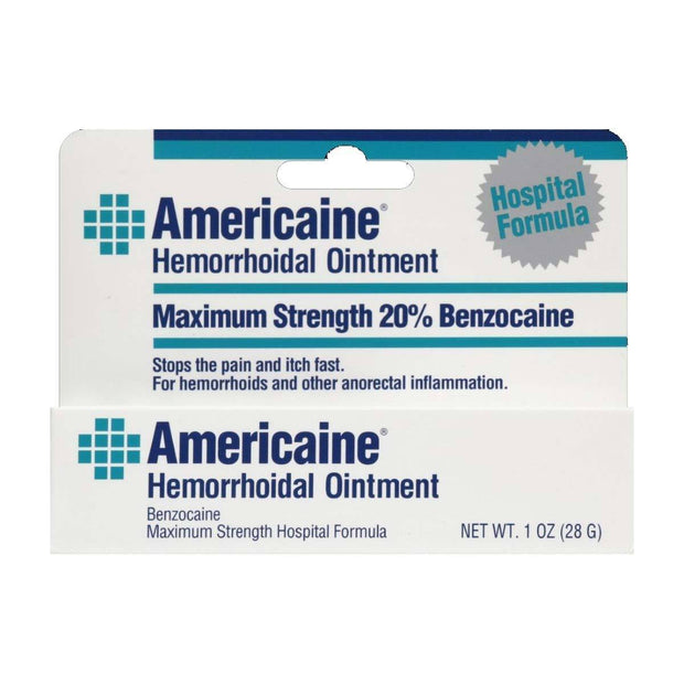 Americaine Hemorrhoidal Ointment Max Strength 20% Benzocaine