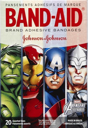 Band-Aid Adhesive Bandages Avengers Assorted 20 ct
