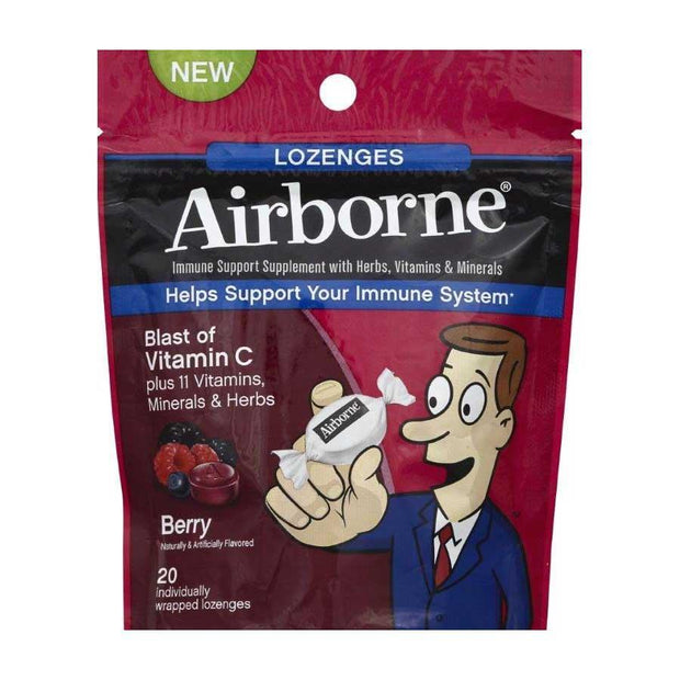 Airborne Immune Support Berry Lozenges