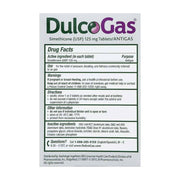 DulcoGas Max Strength Gas Relief Wild Berry Chewable Tablets