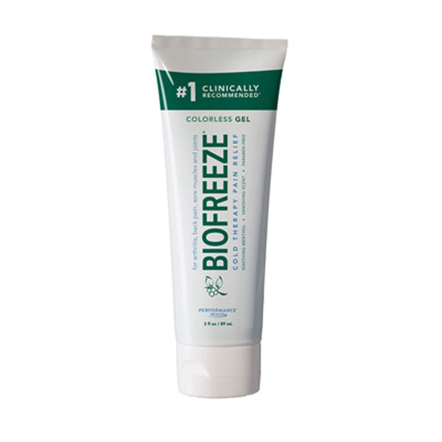 Biofreeze Pain Relief Colorless Gel