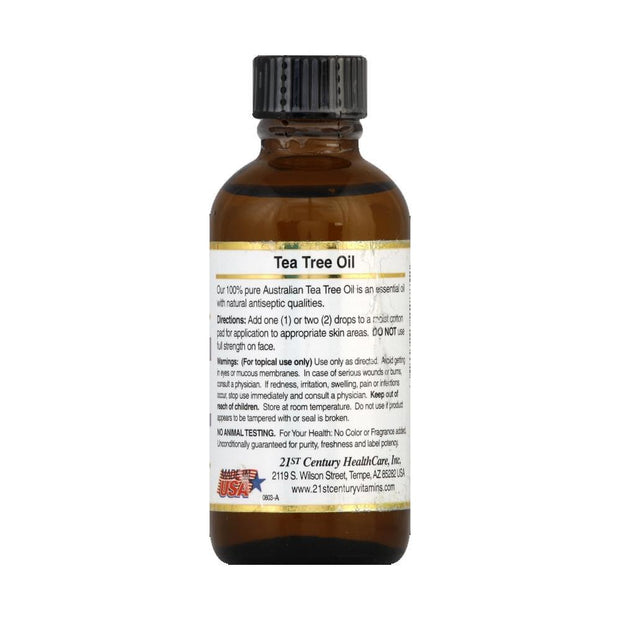 21st Century Tea Tree Oil Natural Antiseptic 2 oz