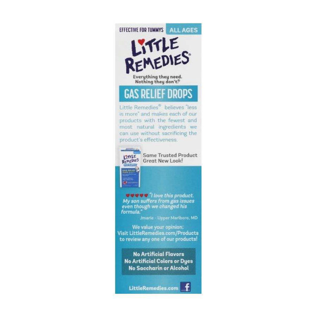 Little Remedies Gas Relief Berry Drops