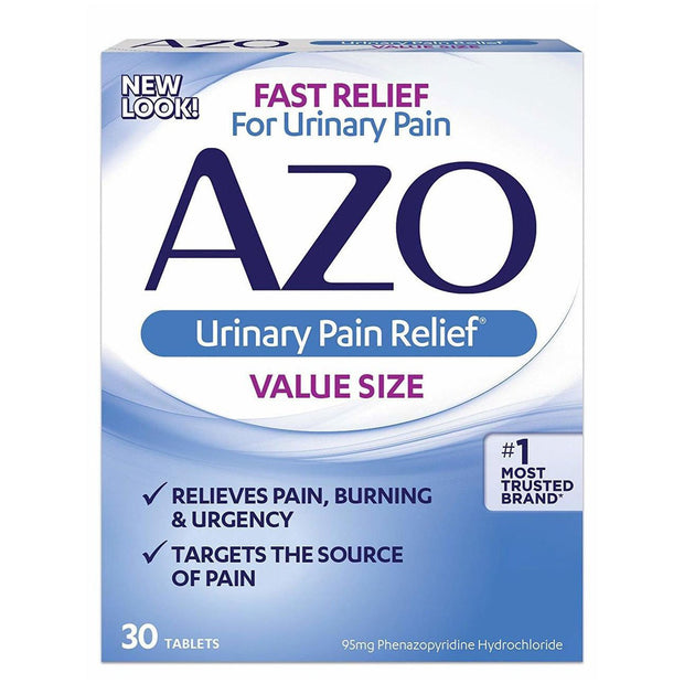 AZO Urinary Pain Relief Tablets