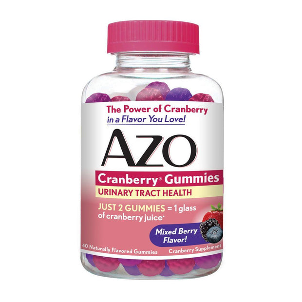 AZO Urinary Tract Health Mixed Berry Gummies