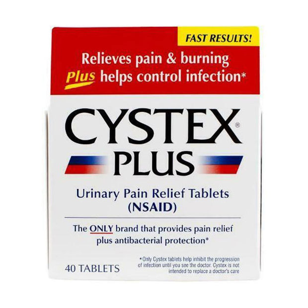 Cystex Plus Urinary Pain Relief Maximum Strength Tablets