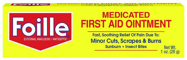 Foille Medicated First Aid Ointment 1 oz