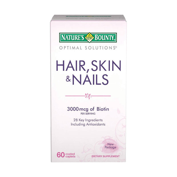 Nature's Bounty Hair Skin & Nails Tablets 60 ct