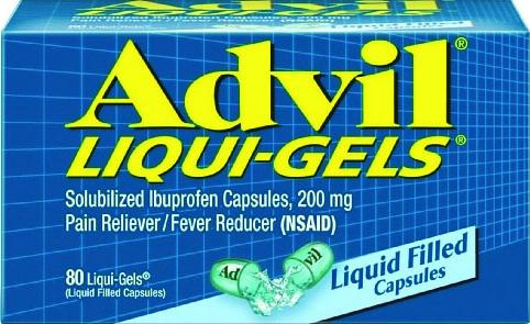 Advil Pain Reliever/Fever Reducer Ibuprofen Liqui-Gels