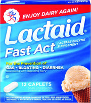 Lactaid Fast Act Lactase Supplement Caplets