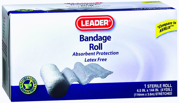 LEADER Bandage Roll 4.5 in. x 4 yd 1 roll