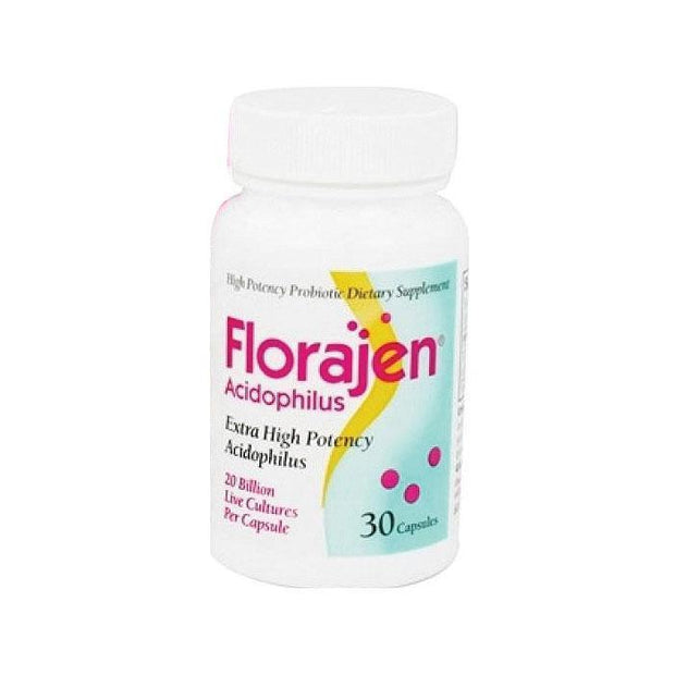 Florajen Dietary Supplement Capsules 30 ct
