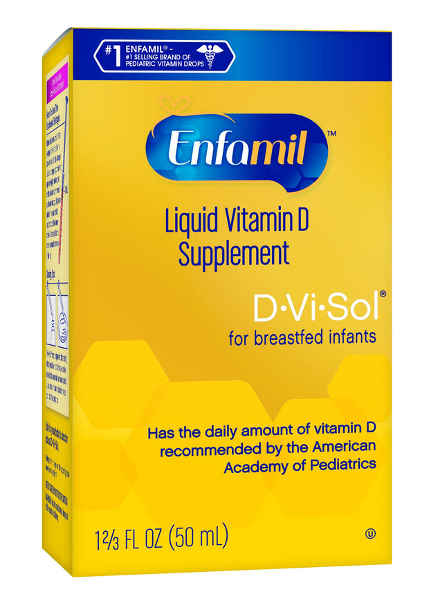 Enfamil D-Vi-Sol for Infants Liquid Vitamin D Supplement 1.66 oz