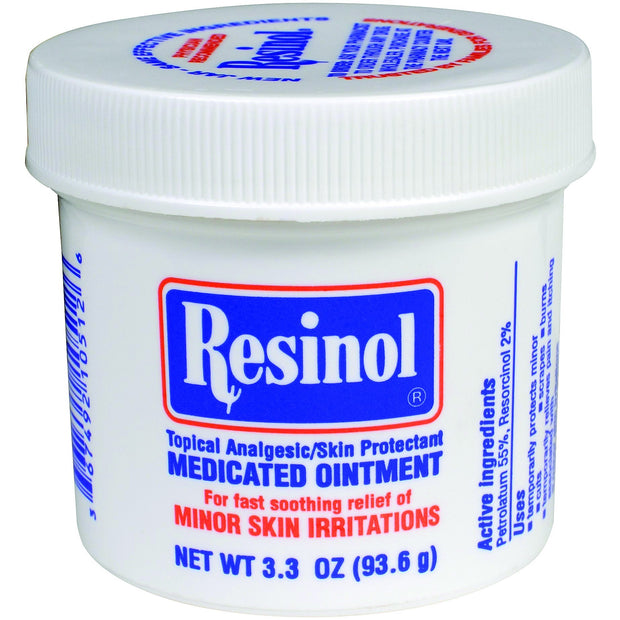 Resinol Medicated Ointment Topical Analgesic/Skin Protectant 3.3 oz