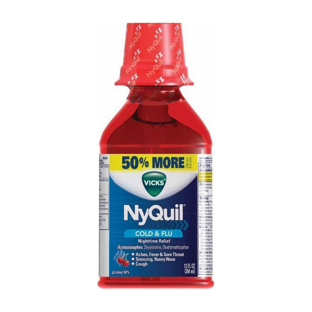 Vicks NyQuil Cold & Flu Relief Cherry Liquid