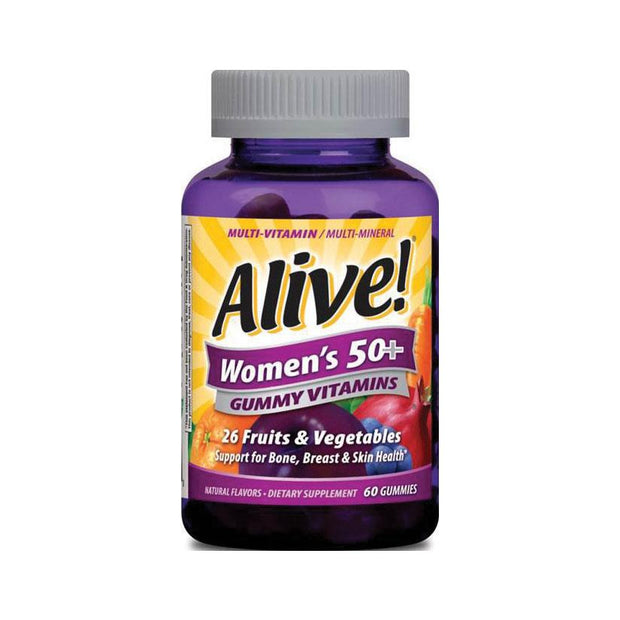 Nature's Way Alive! Women's 50+ Gummy Vitamins 60 ct