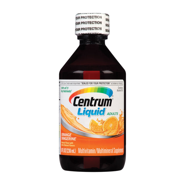 Centrum Adults Multivitamin/Multimineral Citrus Liquid 8 oz
