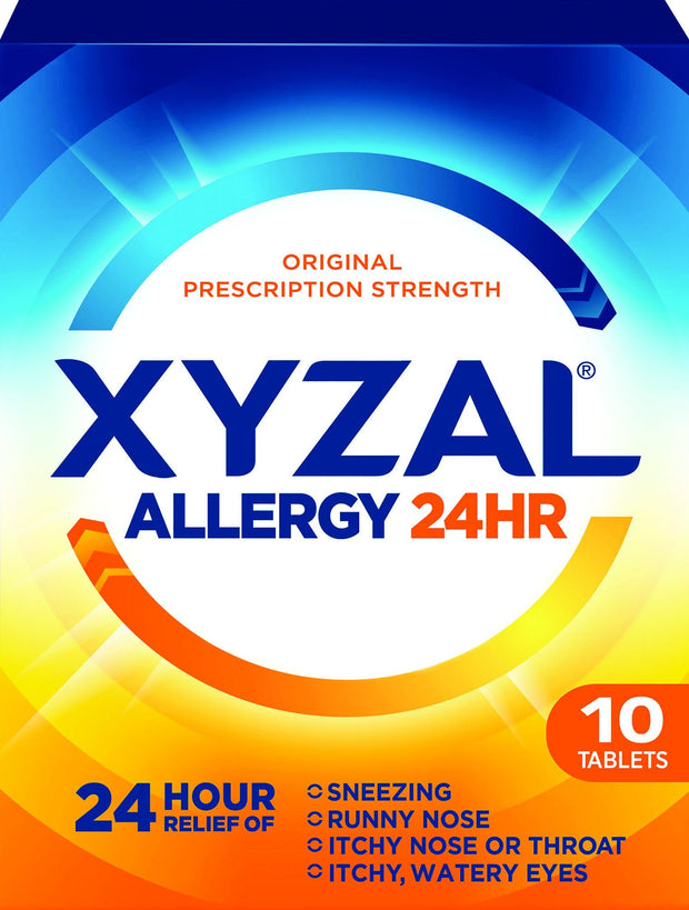 Xyzal Allergy 24 Hour Relief 5mg Tablets