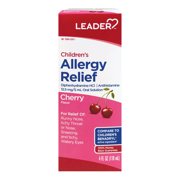 LEADER Children's Allergy Cherry Liquid