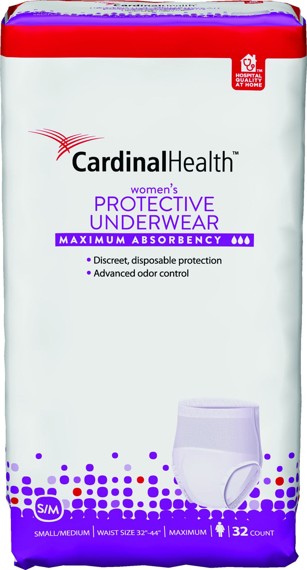 Cardinal Health Men's Protective Underwear Max Absorbency Small/Medium