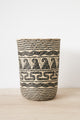 Woven Bin/Plantpot Cover - Natural | Merkabah Goods Co.