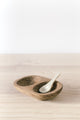 Salt and Pepper Bowl - Teak | Merkabah Goods Co.
