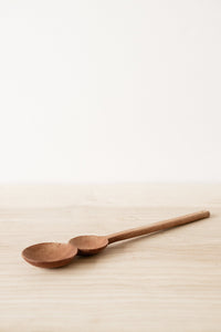 Double Dip Spoon - Teak | Merkabah Goods Co.