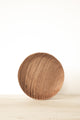 Handcarved Plate - Teak | Merkabah Goods Co.