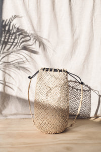 Open Weave Anjat Bag - Natural | Merkabah Goods Co.