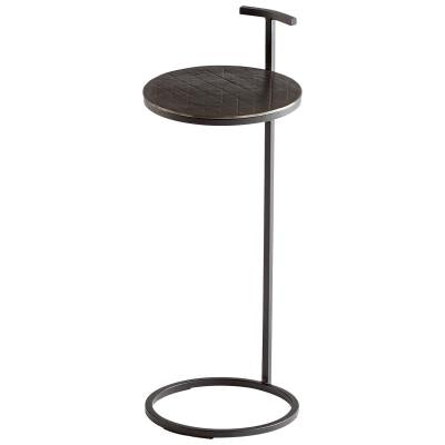 Aluminum Industrial Accent Table - Mix Home Mercantile