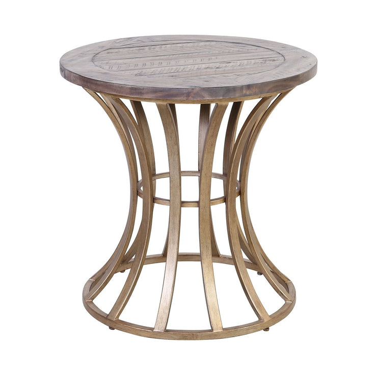 Soft Grey Accent Table - Mix Home Mercantile
