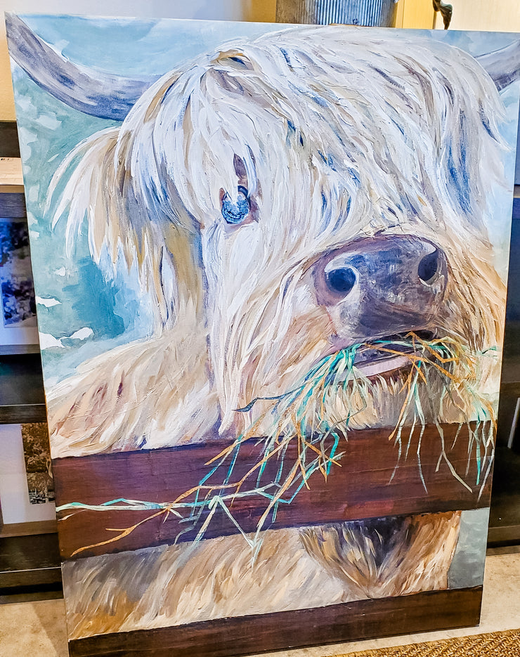 Arthur - Custom Art 30 x 40 - Mix Home Mercantile